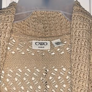 Cato Shirts & Tops - Cato girls cardigan